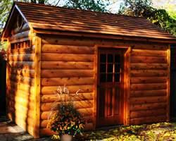 Siding Material Log Cabin Cedar Summerwood ID Number 184210