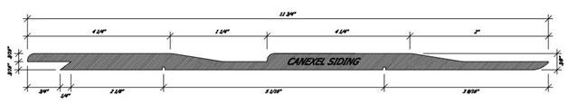 Cabin Canexel Siding Profile siding Summerwood