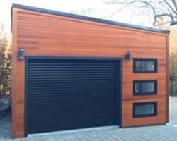 Garage Clear T&G siding material modern Summerwood ID Number 194264
