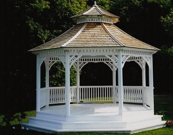 Gazebo staining information Semi-transparent Summerwood ID number 387