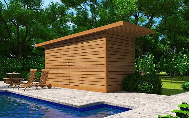 Dune Pool Cabana Summerwood