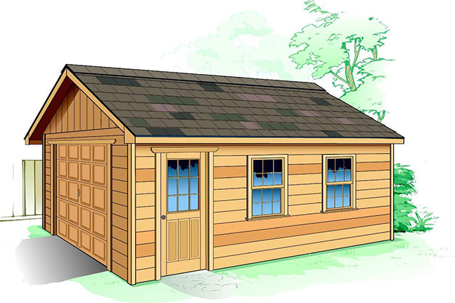 Simple garage designs garage design ideas with simple for Engineered garage plans