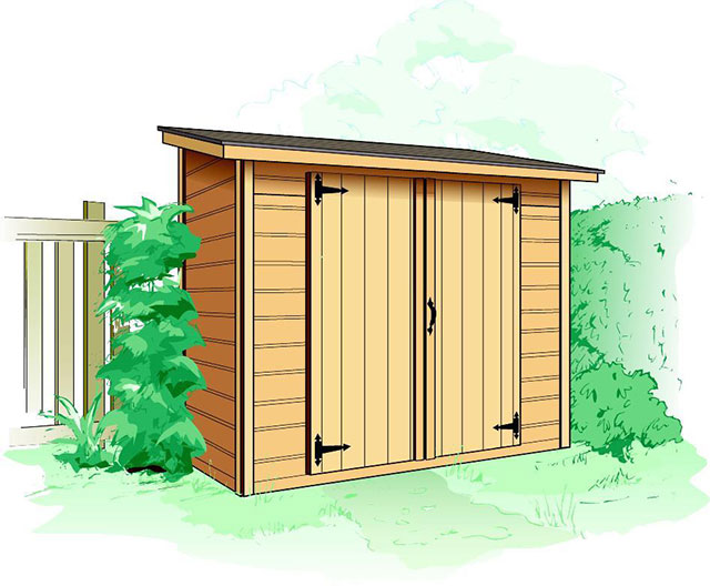 Our Discreet Sarawak Lean To Shed, Is The Perfect Fit For Those With Small  Yards, But In Need Of Practical Storage Space. Learn More About Pricing And  ...