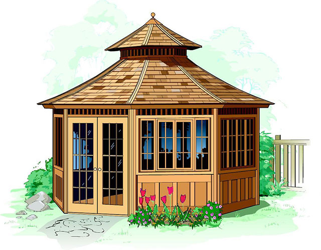 about gazebo kits pinterest tub on garden images ideas best hot