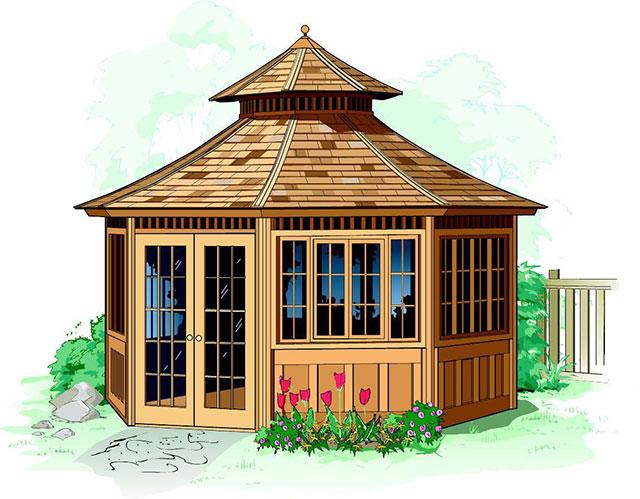 home gazebo designing outdoors your hot ottawa islander the gazebos renovation tub
