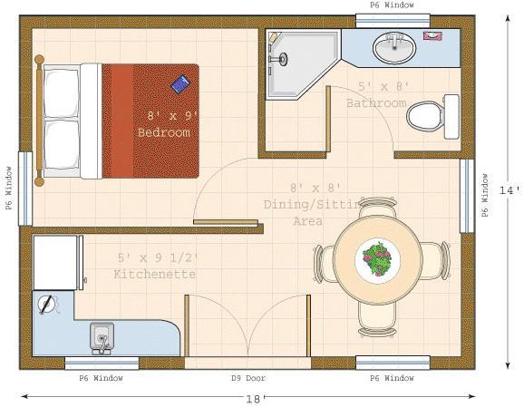 Glen echo cabin kit summerwood for Cottage bunkie plans