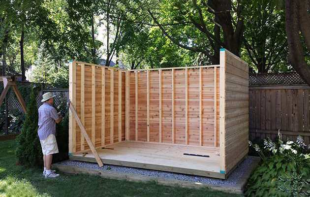 Palmerston garden shed designs summerwood for Garden shed installation