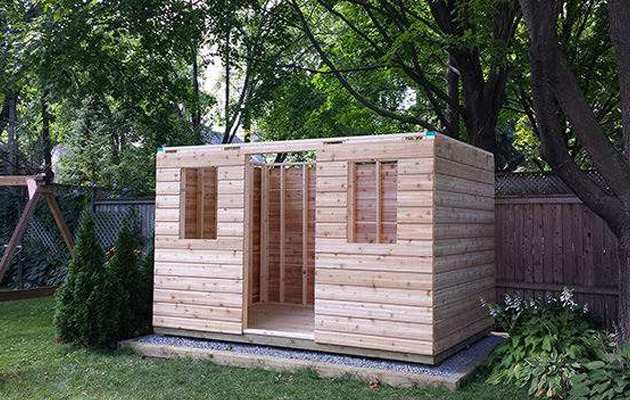 100 shed installation garden sheds with free for Garden shed installation