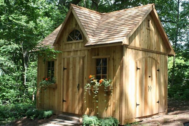 The Copper Creek Shed - Summerwood Products