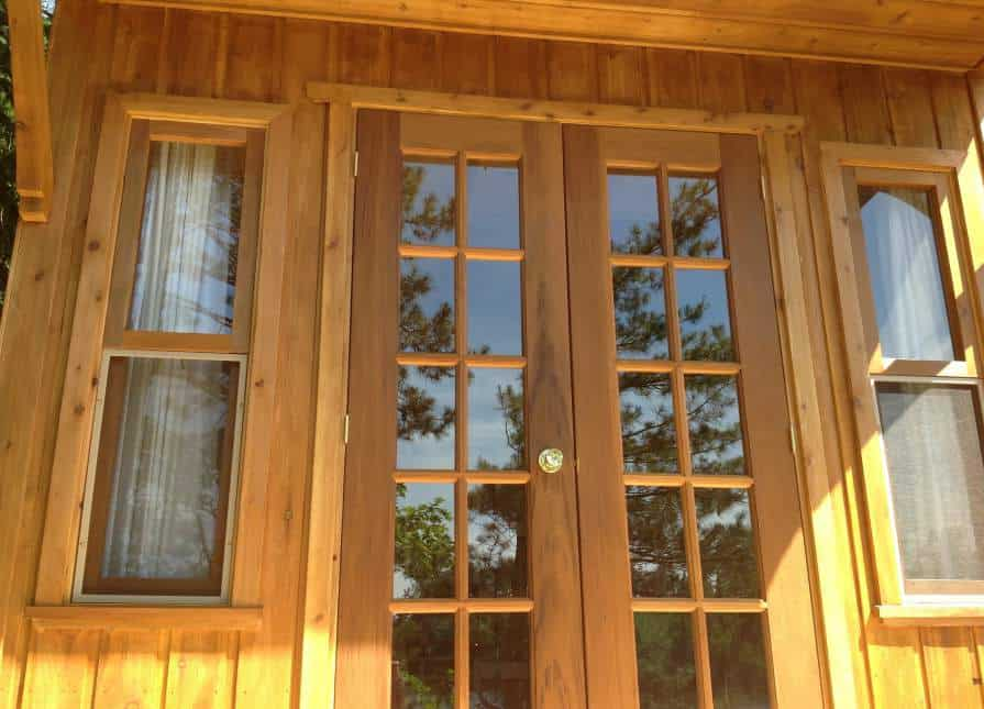 Our maintenance-free siding means no staining, ever!