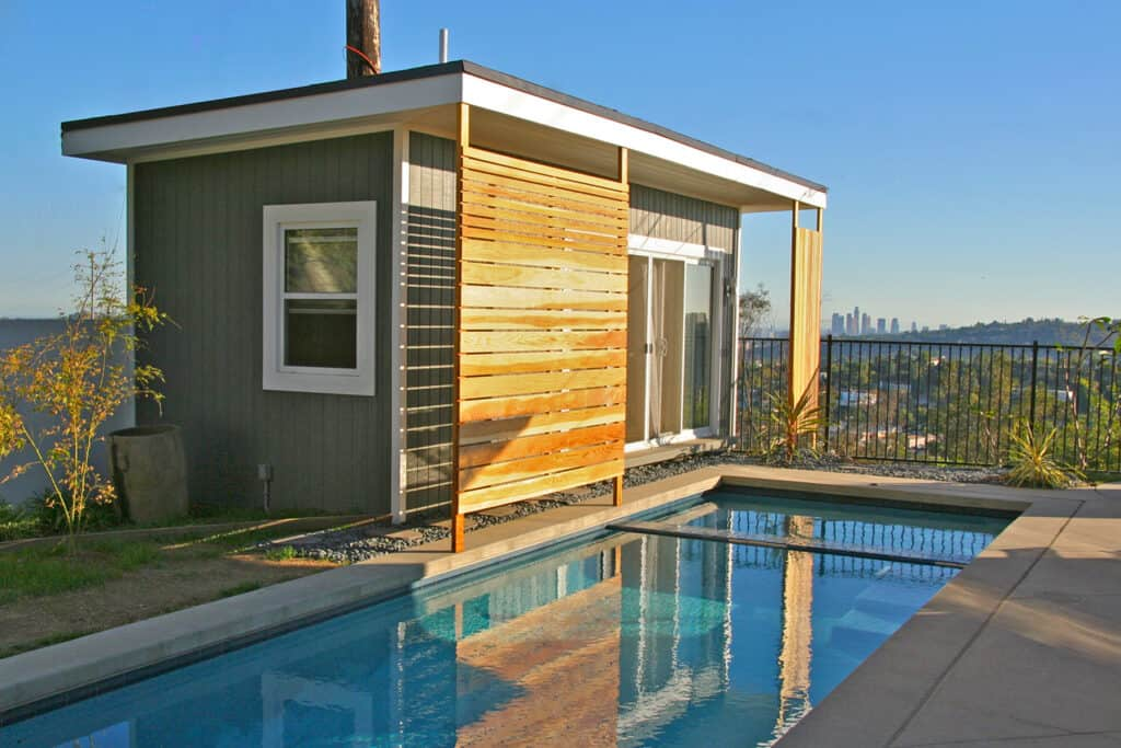 The modern verana pool house summerstyle for Modular pool house