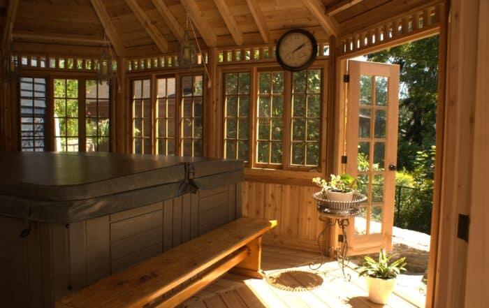Hot Tub & Spa Enclosure - Summerwood Products