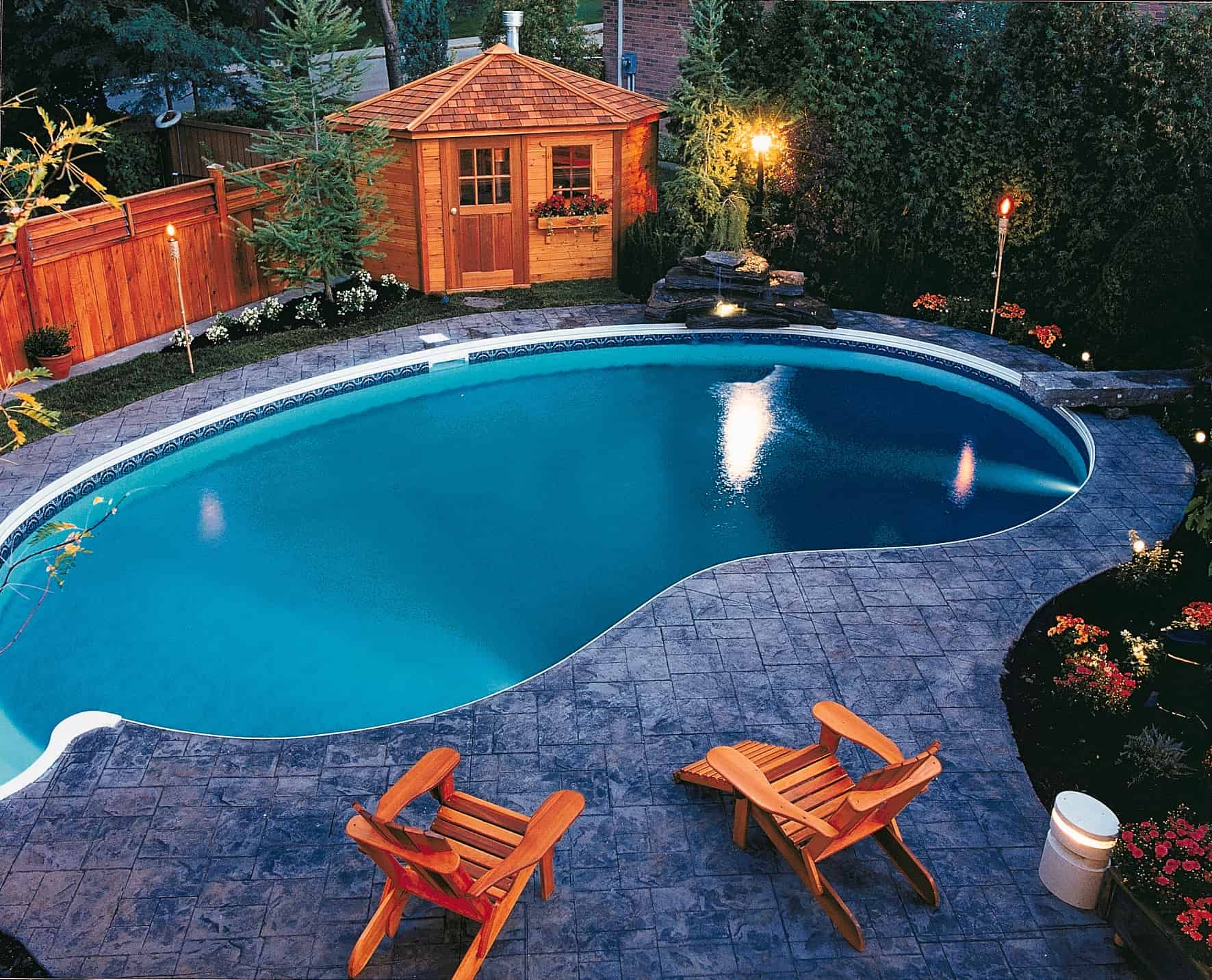 Catalina Pool House - Summerwood Products