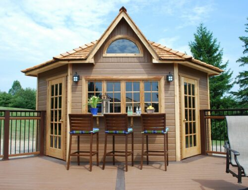 The Catalina: Our 5 Sided Corner Shed